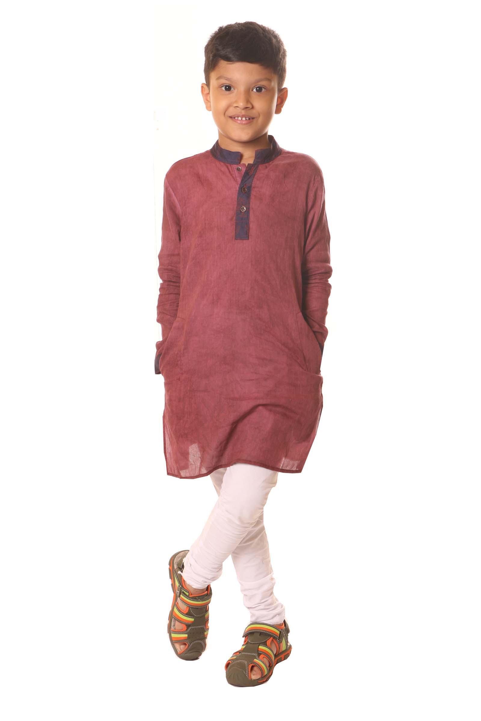 Kids Cotton Panjabi