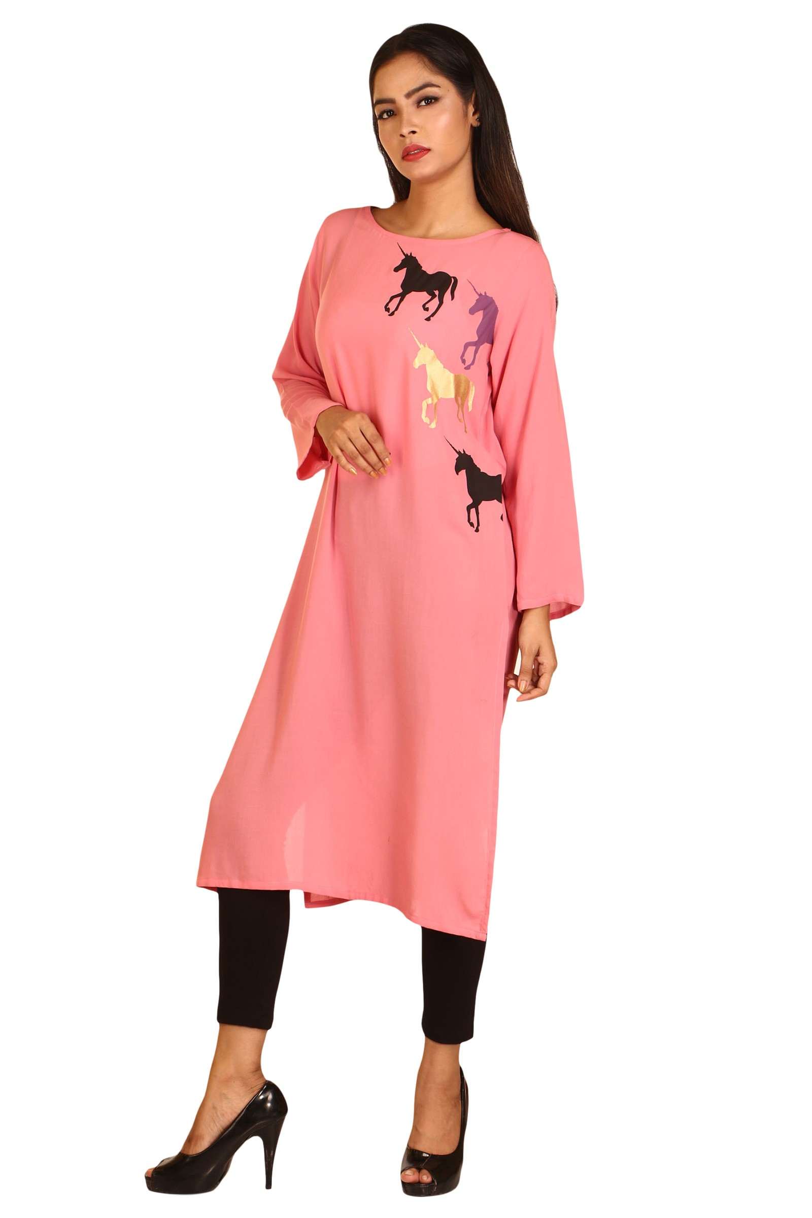 Unicorn Print Tunic